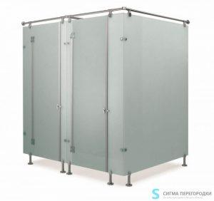Антивандальные туалетные перегородки